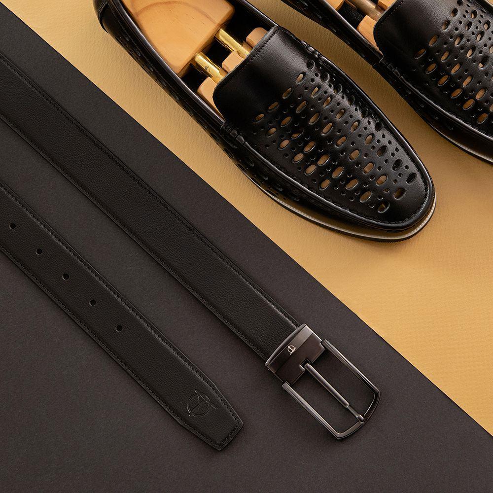 Thắt lưng da nam khóa cài nam tính D480-1329-RF