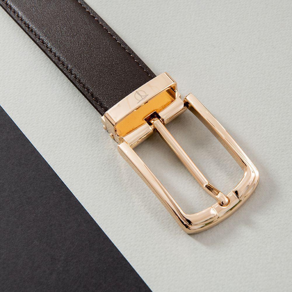 Thắt lưng nam đẹp mặt khóa vàng sang trọng D480-1121-RF