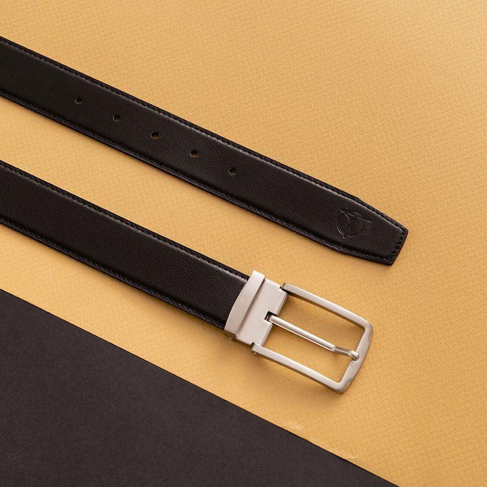 Thắt lưng nam khóa cài mặt vuông D480-1120-RF