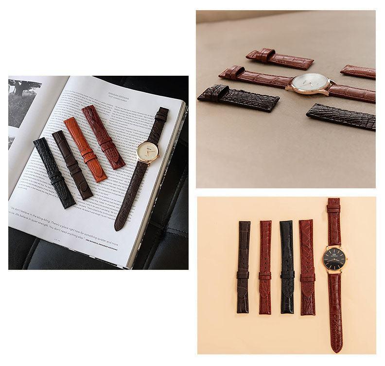 Các kiểu dây đồng hồ đẹp