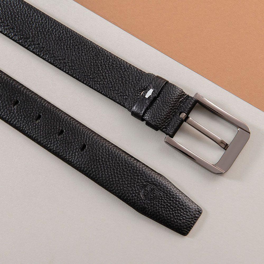 Thắt lưng da bò dành cho nam khóa vuông D310A-15