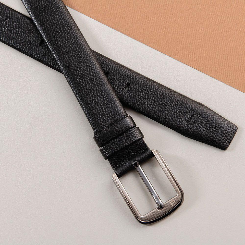 Thắt lưng da bò khóa vuông dành cho nam D310A-09
