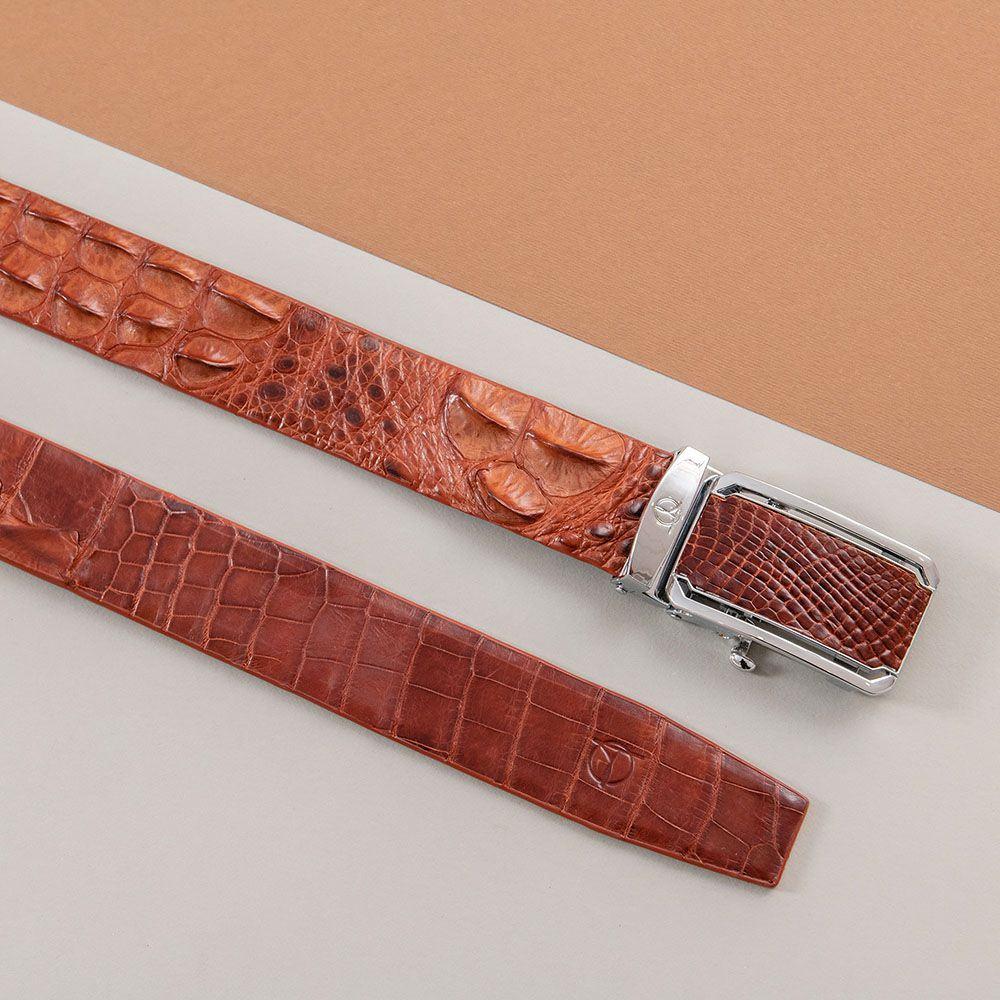 Thắt lưng nam da cá sấu lịch lãm DTA1300-08B-L-ND