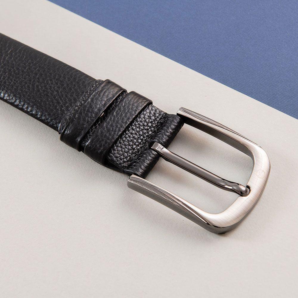 Thắt lưng da khóa vuông bo tròn D310A-17