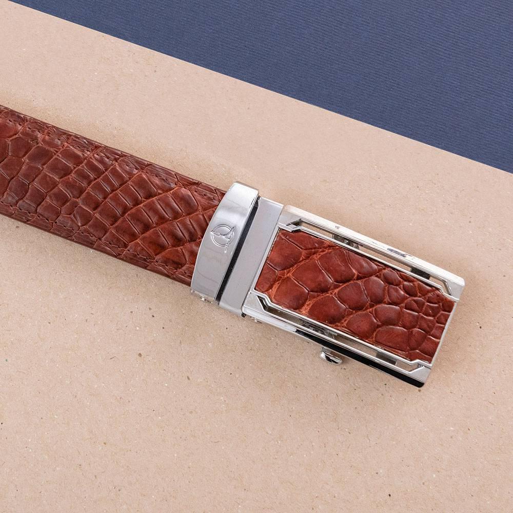 Thắt lưng nam da cá sấu lịch lãm DTA1100-07B-C-ND