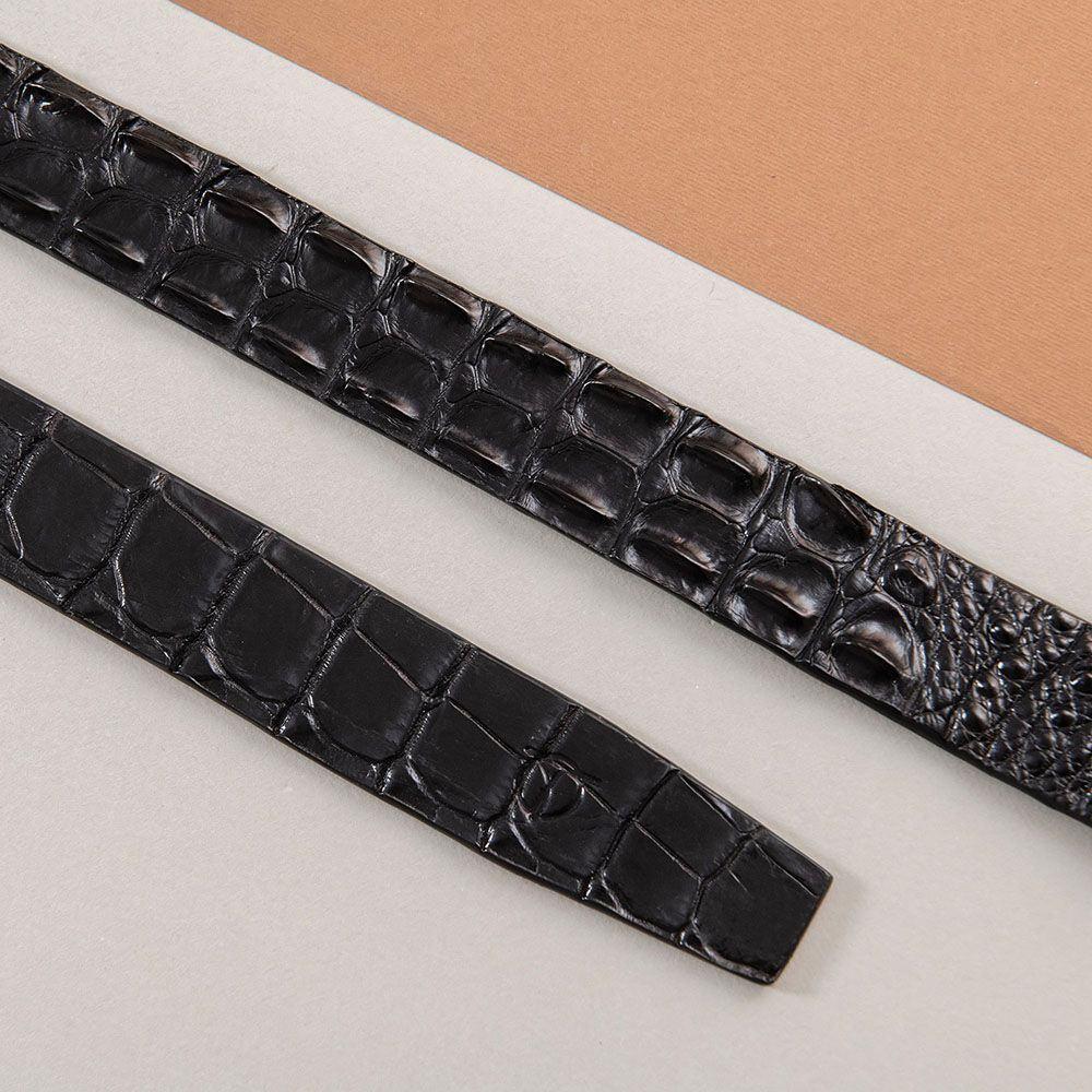 Thắt lưng nam da cá sấu nối bản 3.5 cm DTA1100-07V-L-D