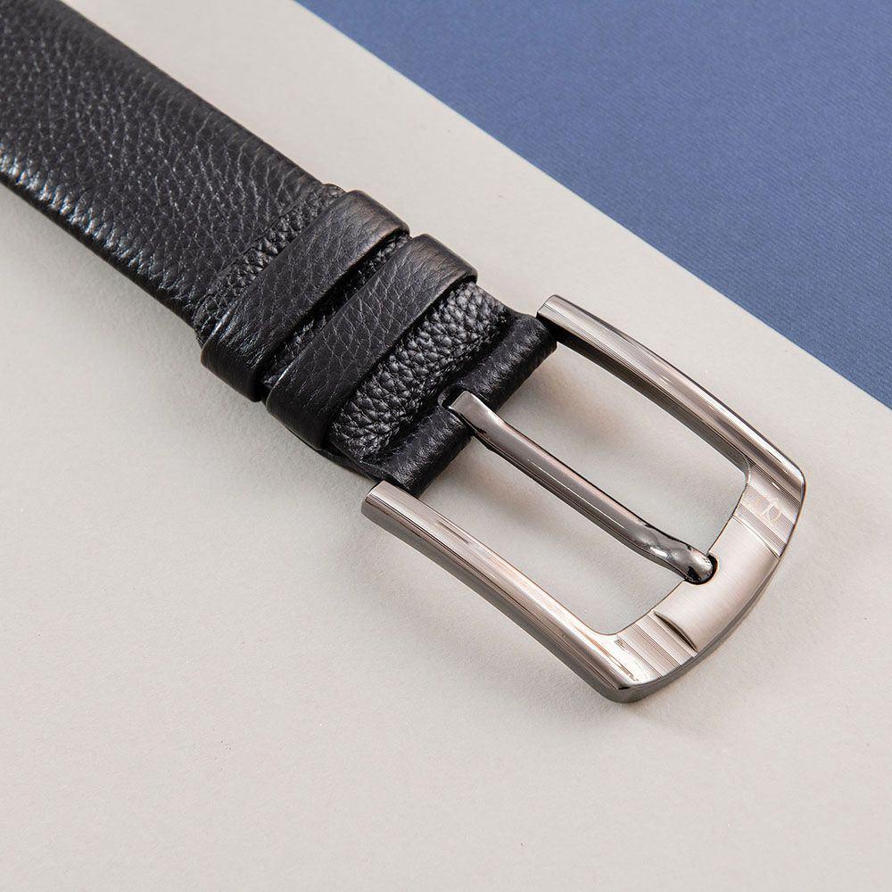 Thắt lưng nam khóa vuông bo góc đẹp D310A-10