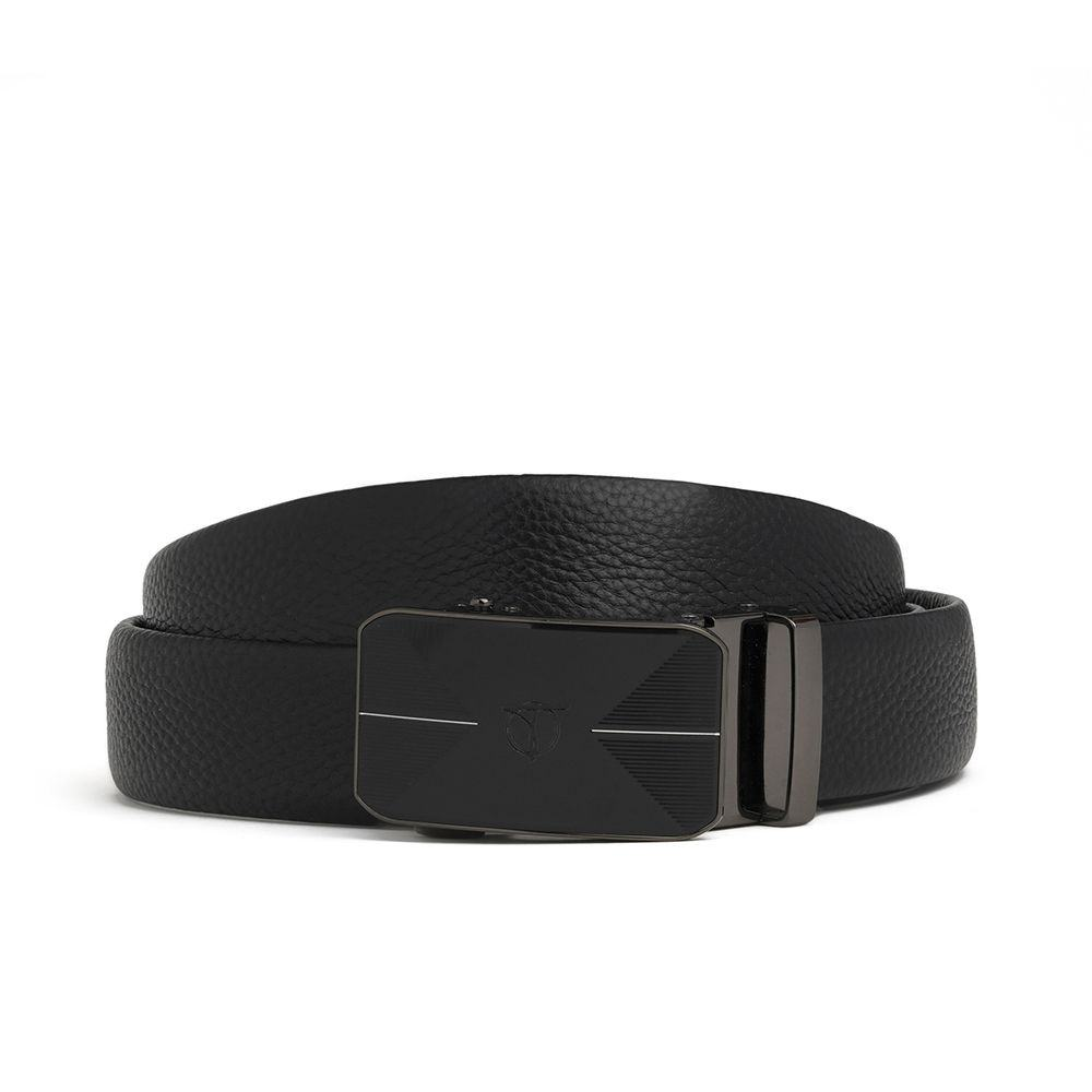 Thắt lưng nam mặt khóa màu đen độc lạ D390-202048D
