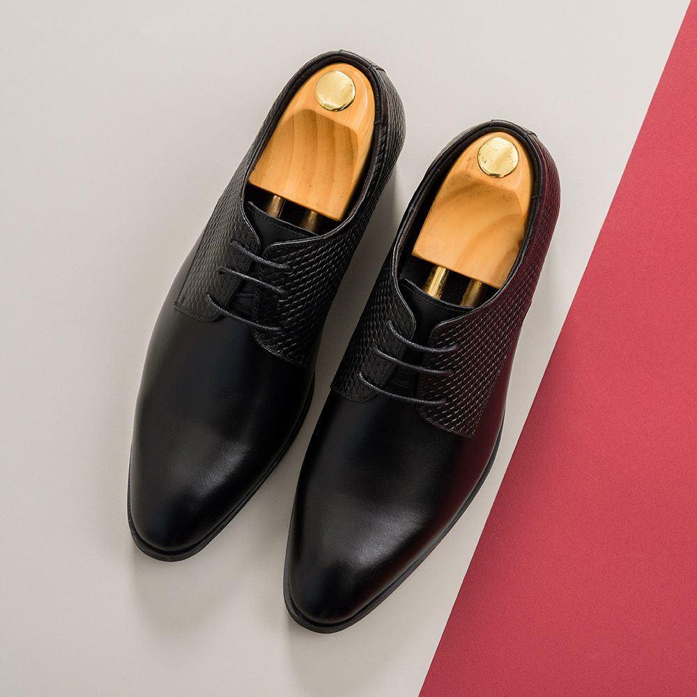 Giày cao nam da bò GCTATC167-D