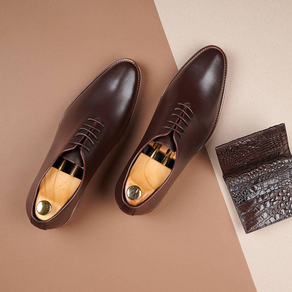Giày da nam kiểu dáng trẻ trung GNTA820-N