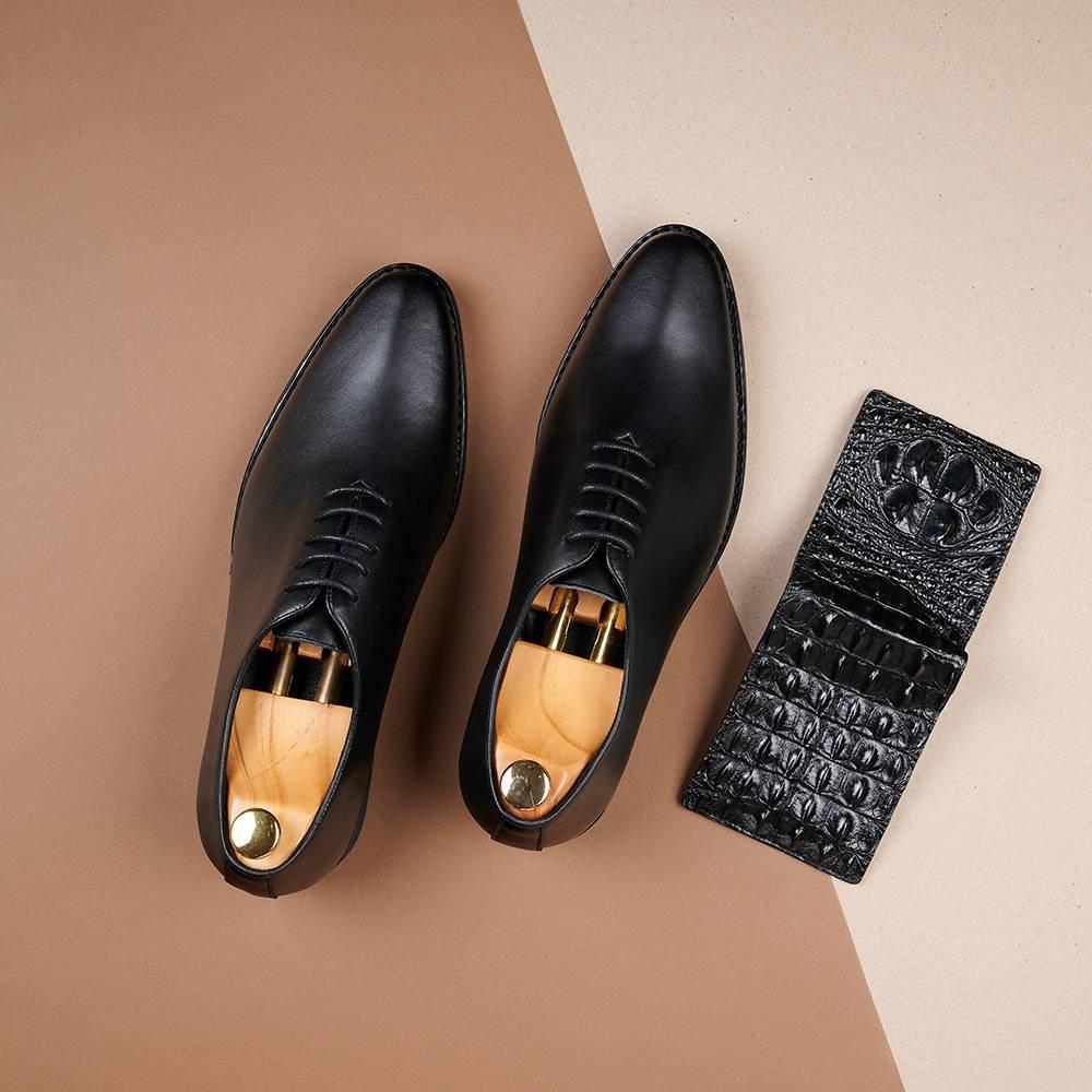Giày da nam hàng hiệu GNTA820-D