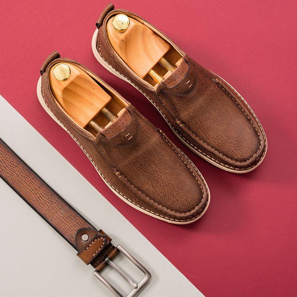 Giày lười nam GNTA686-N