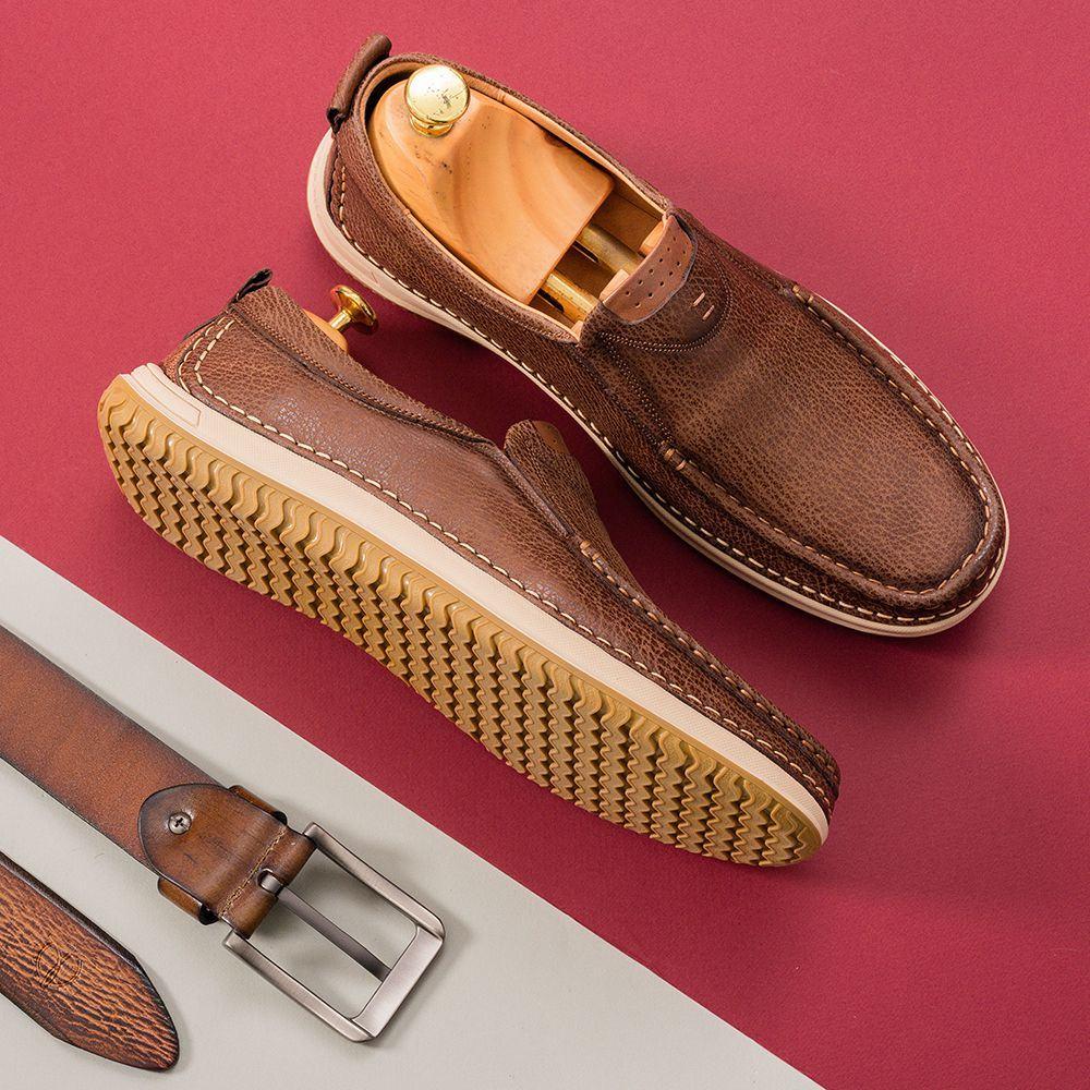Giày lười nam Tâm Anh GNTA686-N