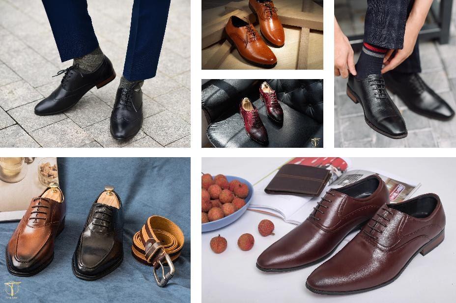 Nhận diện chung của giày Oxford