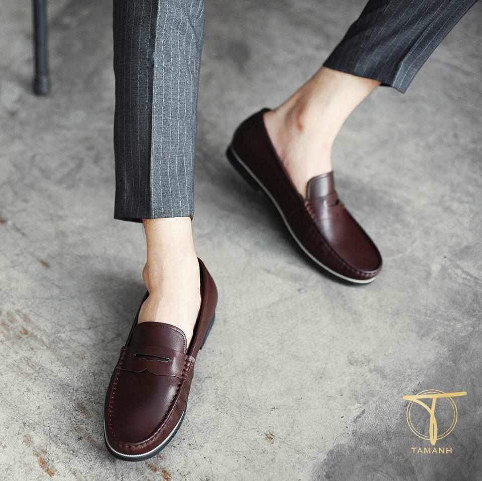 Kiểu giày loafer penny Tâm Anh