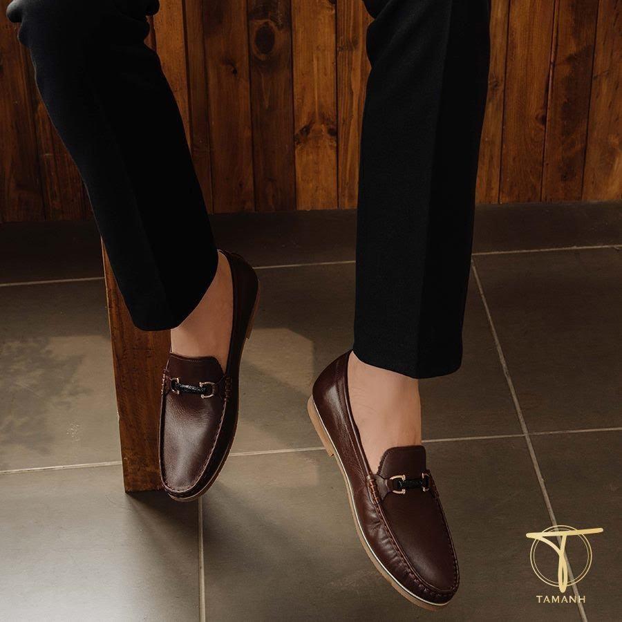 Phối đồ với giày Moccasin