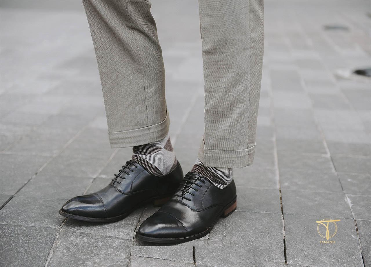 Sở hữu đôi giày da thật tại Tâm Anh