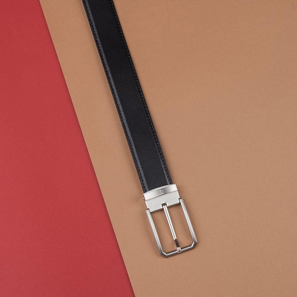 Thắt lưng nam da bò khóa cài D480-1325-1-RF