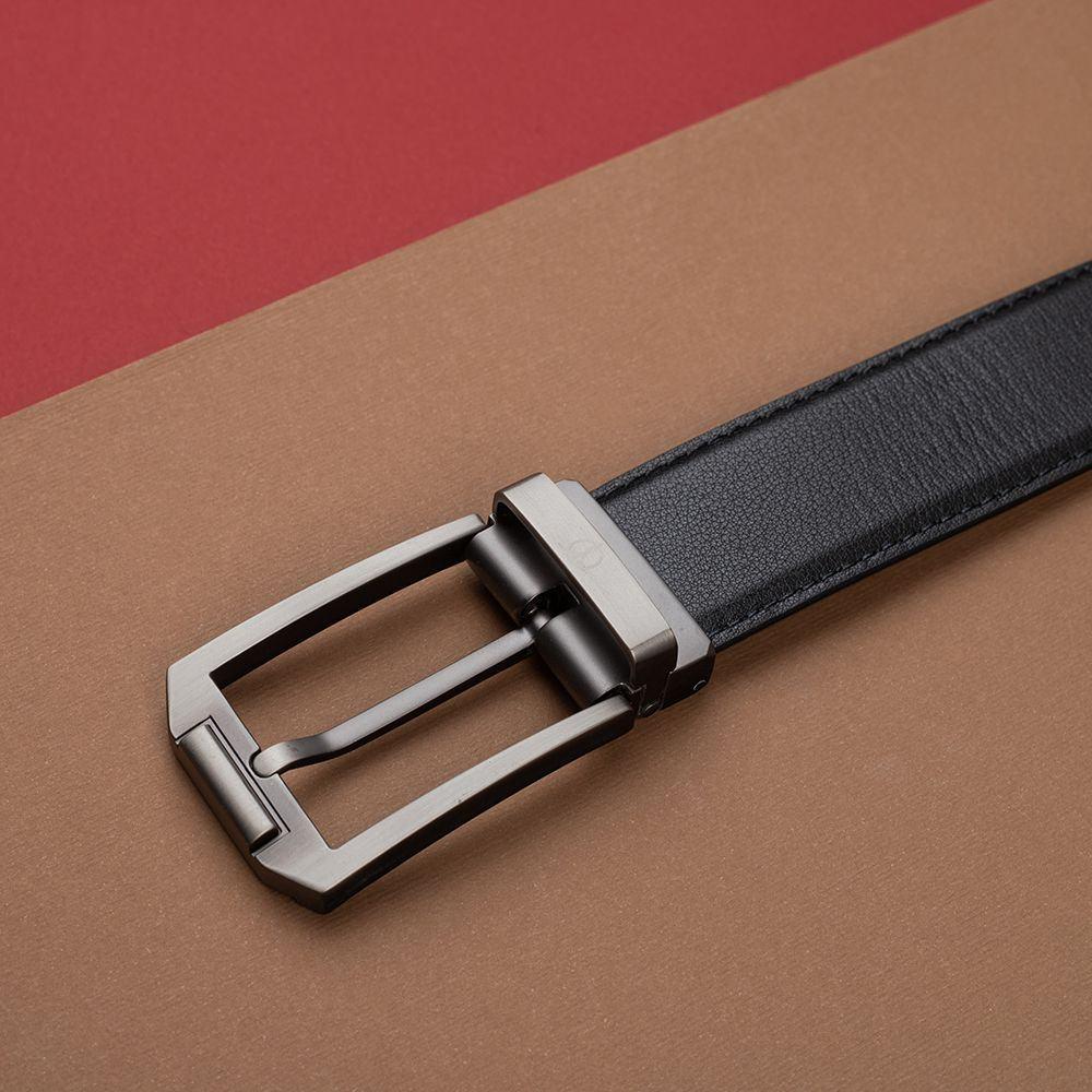 Thắt lưng nam da bò khóa cài D480-1125-1-RF