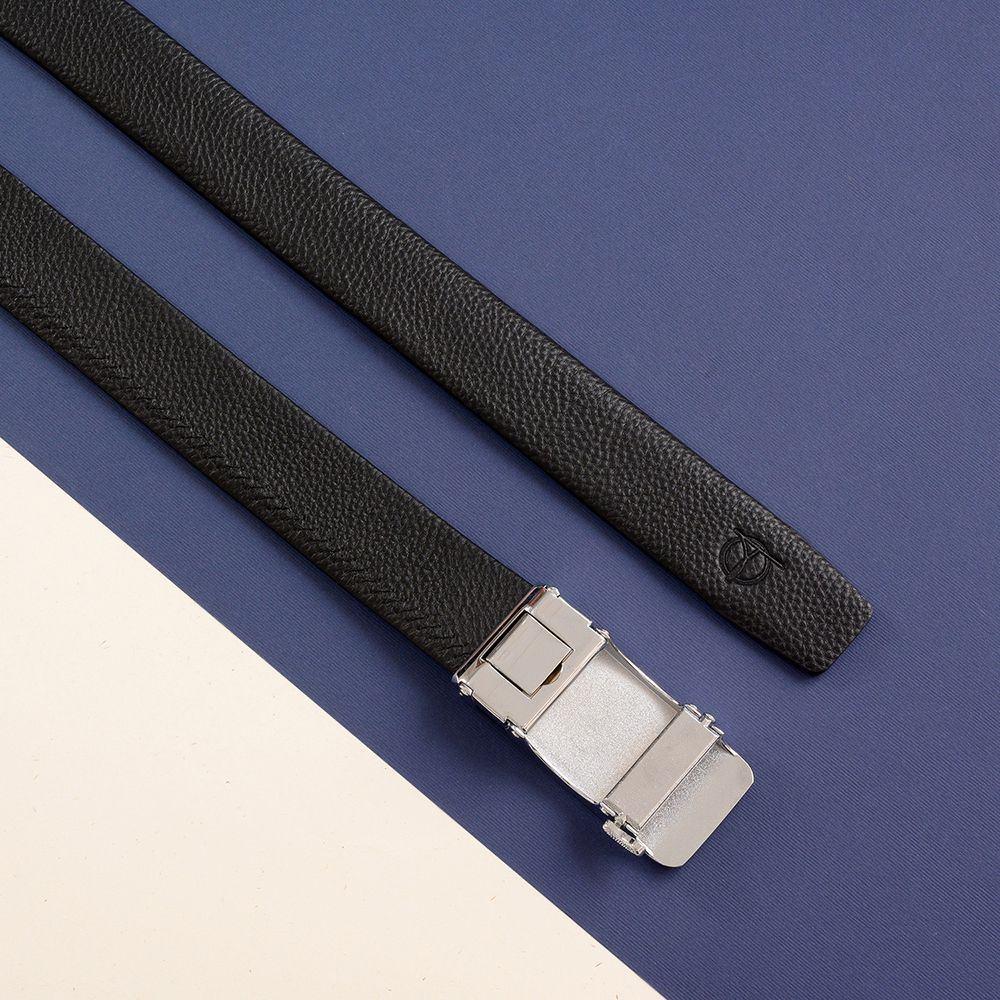 Thắt lưng nam hàng hiệu màu đen D390-202048