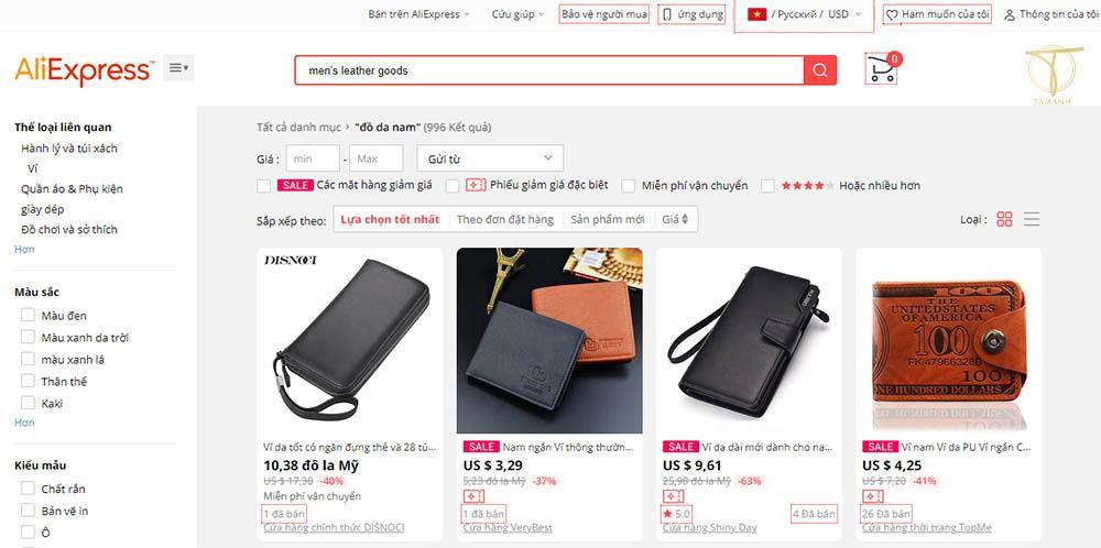 Nhập sỉ đồ từ Trung Quốc qua các trang thương mại điện tử