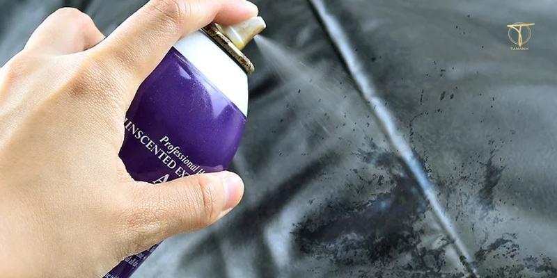 Tẩy mực bút máy bằng keo xịt tóc