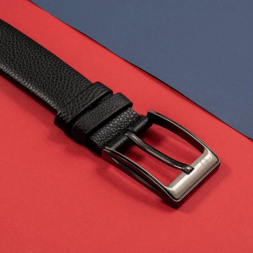 Thắt lưng nam khóa cài màu đen D310A-22