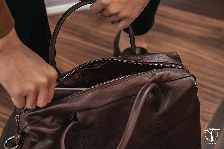 Túi xách ipad màu đen