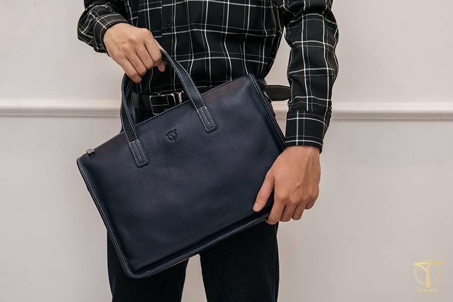 Túi xách nam thời trang công sở tối màu