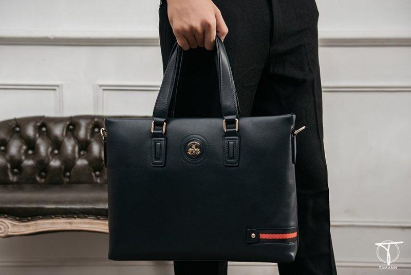Túi xách nam công sở màu xanh navy