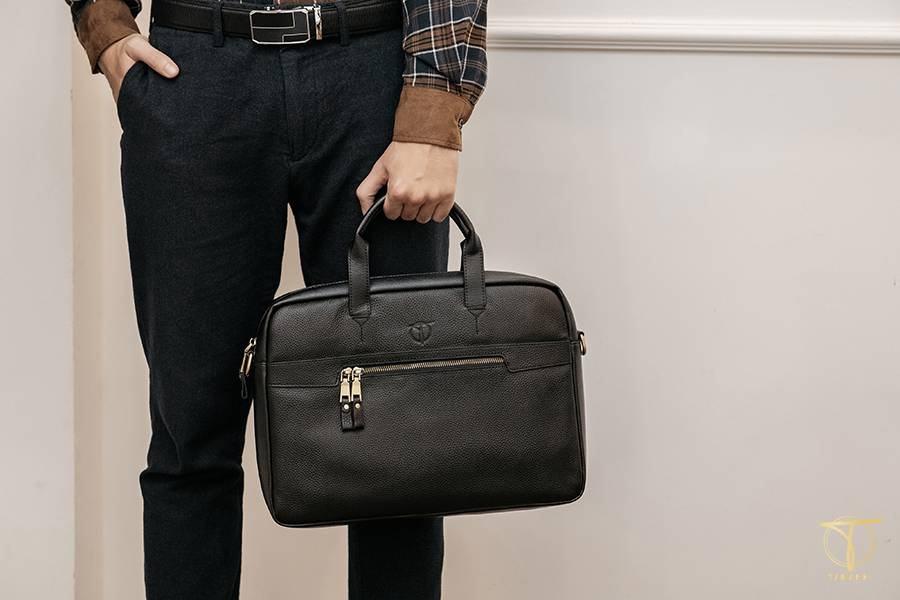 Túi xách nam đựng laptop kiểu basic