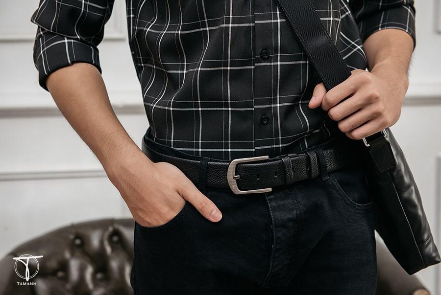 Chọn mặt khóa thắt lưng phù hợp với quần jean