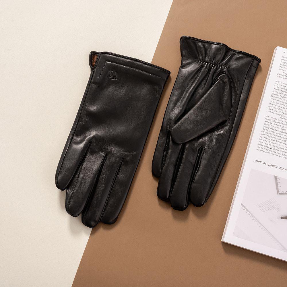 Găng tay da nam cảm ứng GTTACUNA-20-D