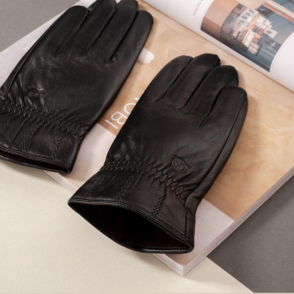 Găng tay da nam cảm ứng GTTACUNA-29-D