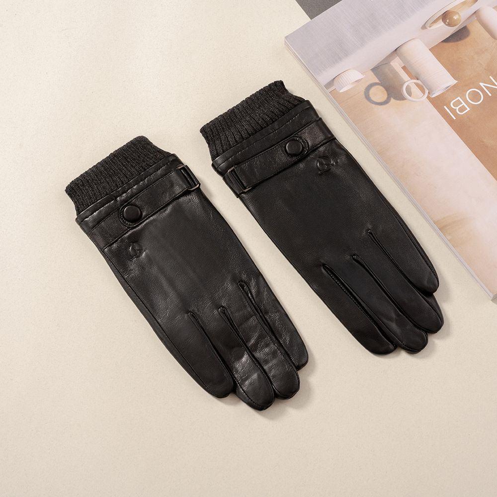 Găng tay da nam cảm ứng GTTACUNA-31-D