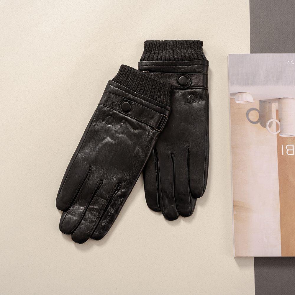 Găng tay da nam cảm ứng mã GTTACUNA-31-D