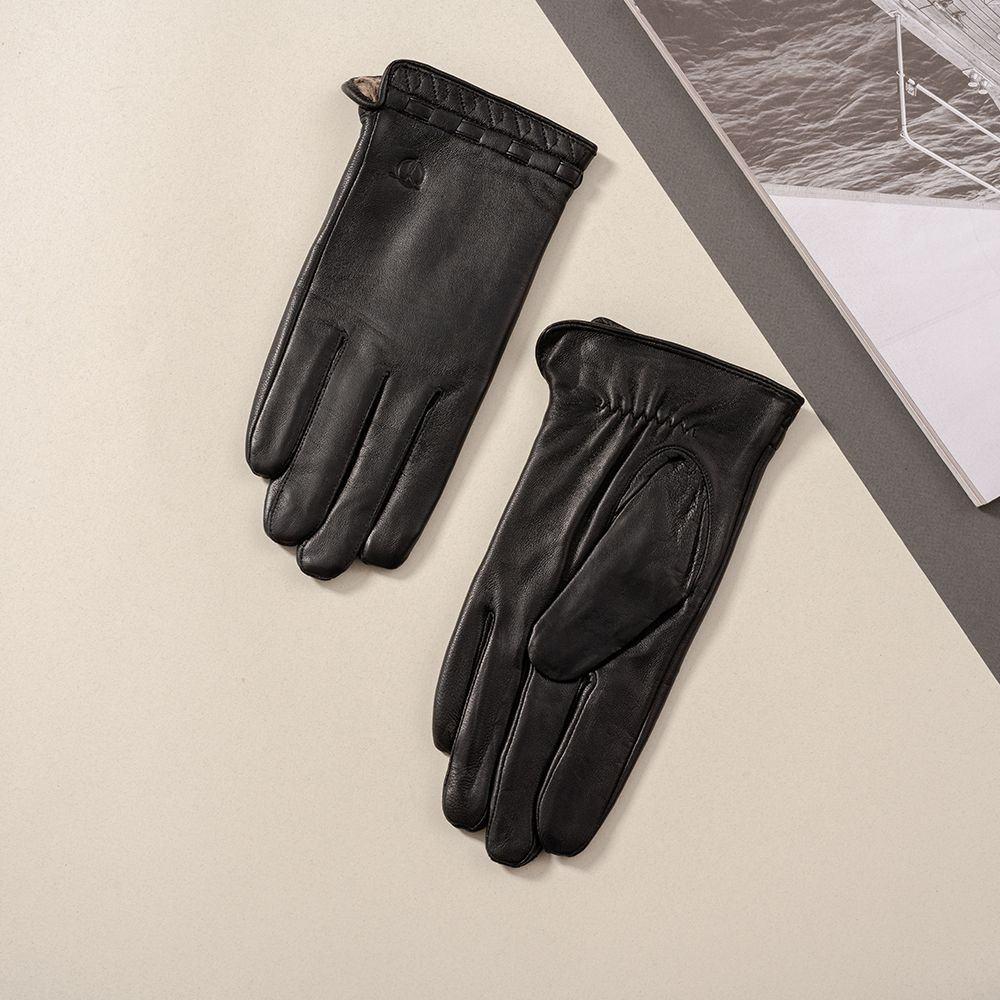 Găng tay da nam Tâm Anh GTTACUNA-26-D