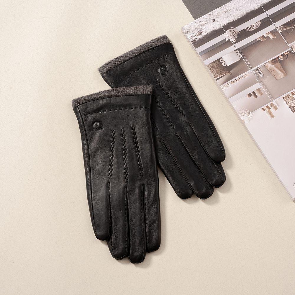 Găng tay da nam GTTACUNA-28-D