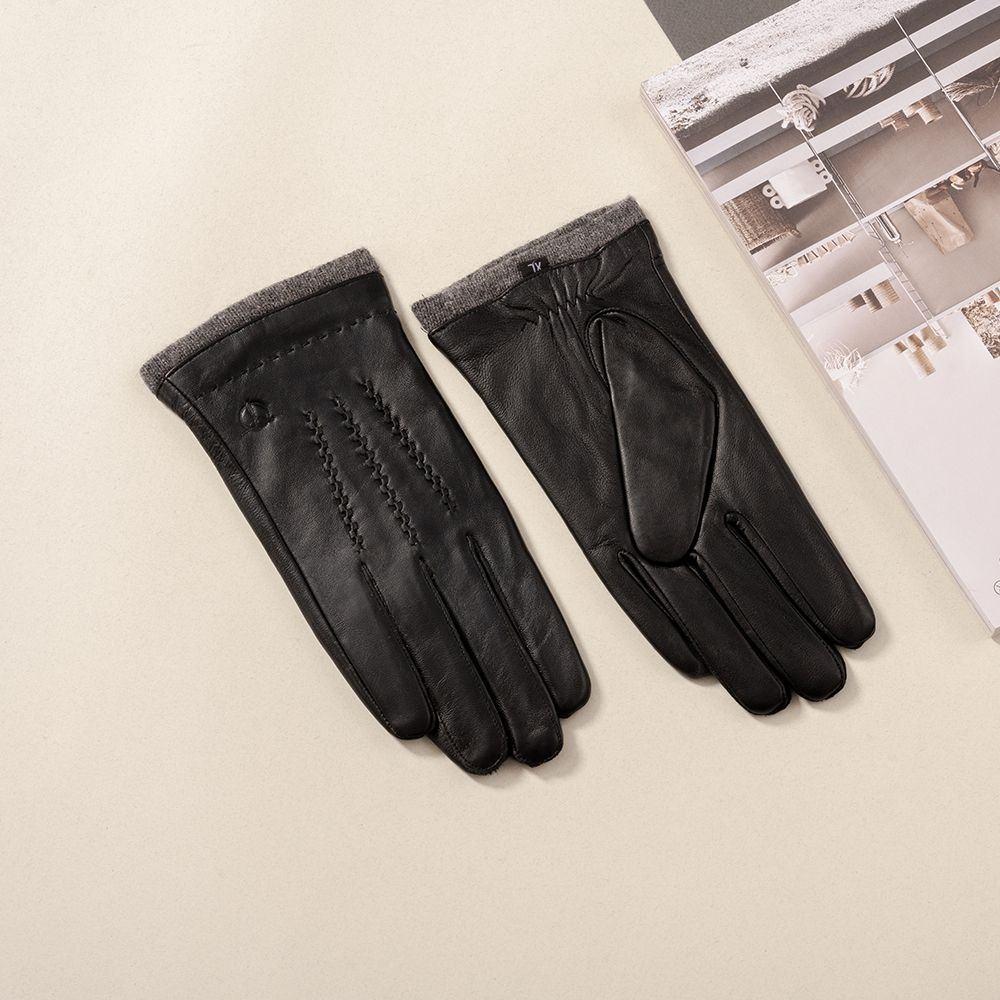 Găng tay da nam mã  GTTACUNA-28-D