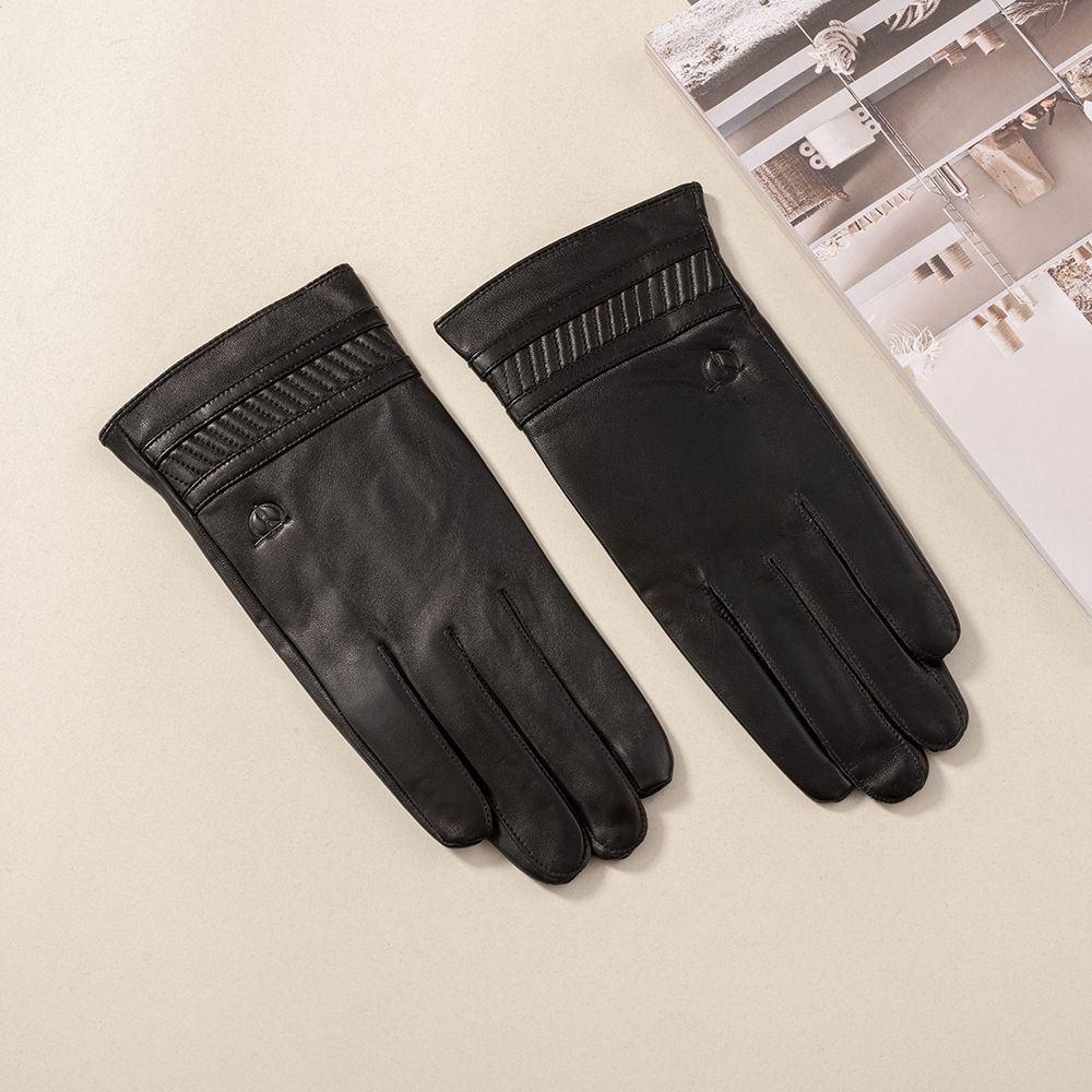 Găng tay da nam hàng hiệu GTTACUNA-30-D