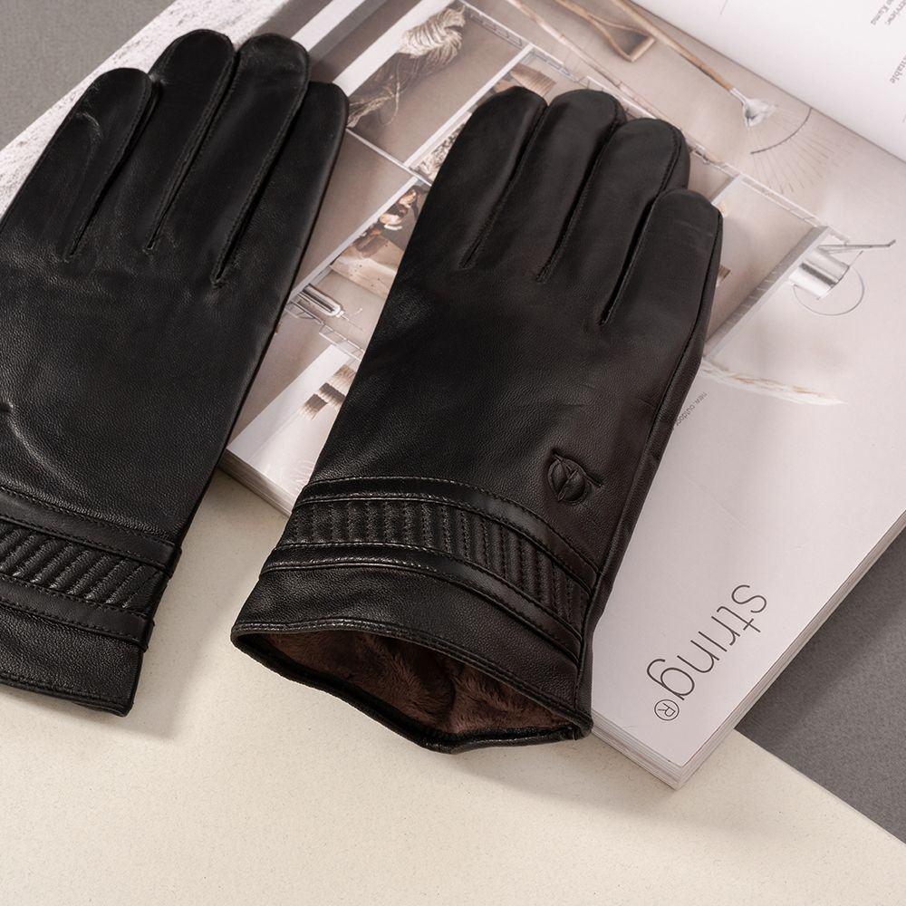 Găng tay da nam cảm ứng GTTACUNA-30-D