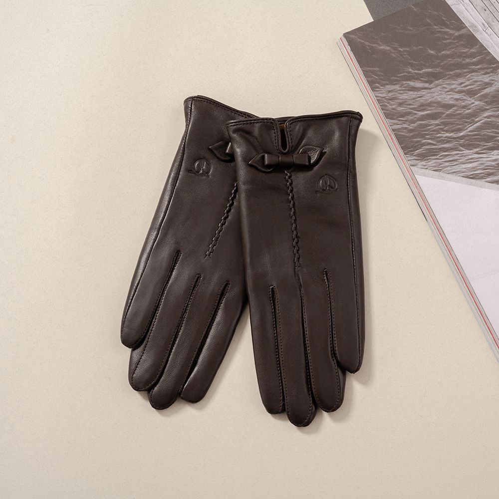 Găng tay da nữ GTTACUNU-11-N