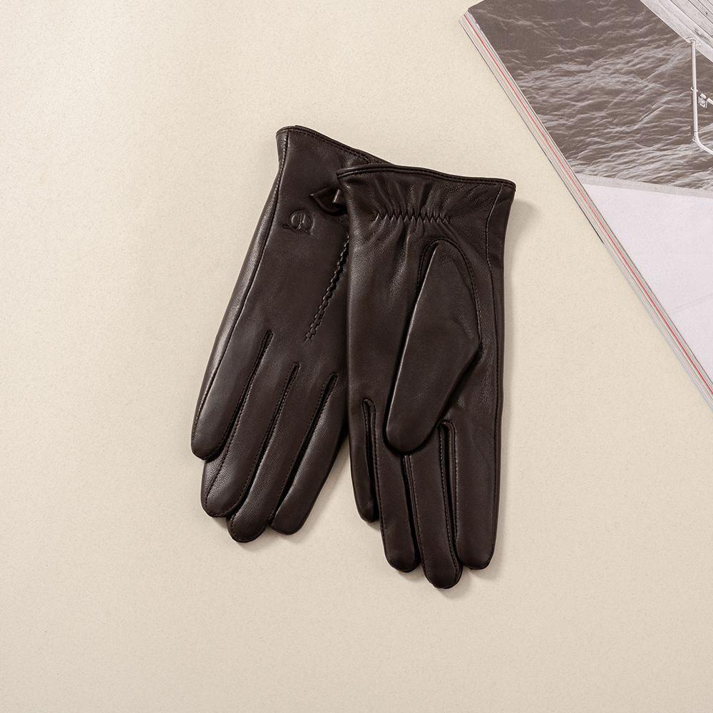 Găng tay da nữ mã GTTACUNU-11-N