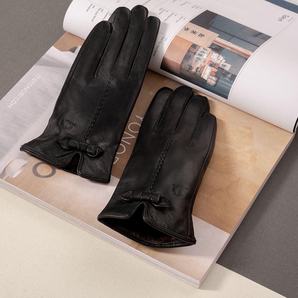 Găng tay da nữ Tâm Anh GTTACUNU-11-D