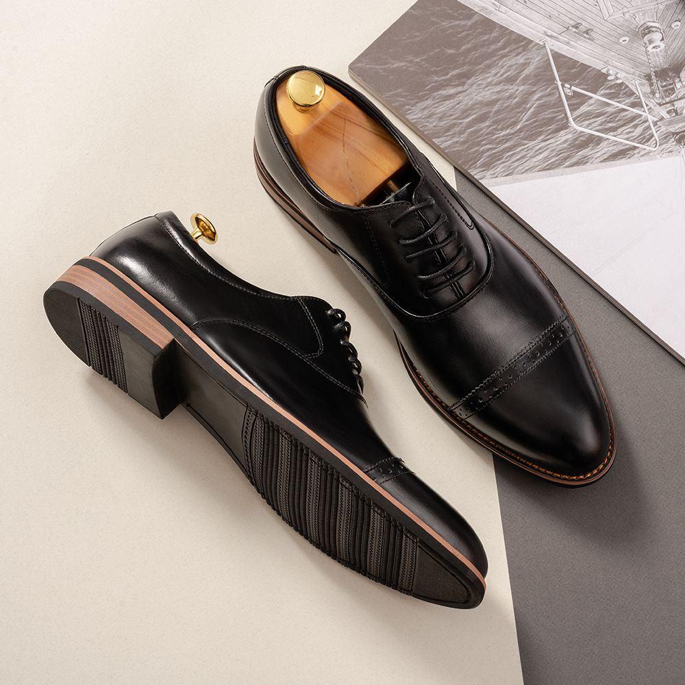 Giày da nam hàng hiệu Tâm Anh GNTA2691-D