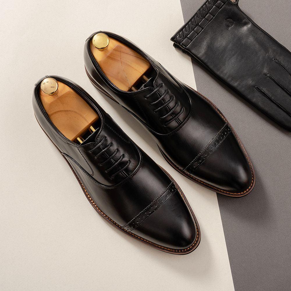 Giày da nam hàng hiệu mã GNTA2691-D