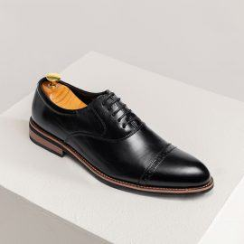 Giày da nam da bò GNTA2691-D