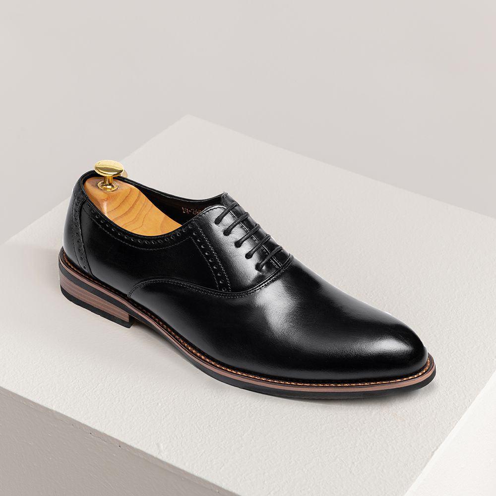 Giày da nam hàng hiệu kiểu dáng trẻ trung GNTA2693-D