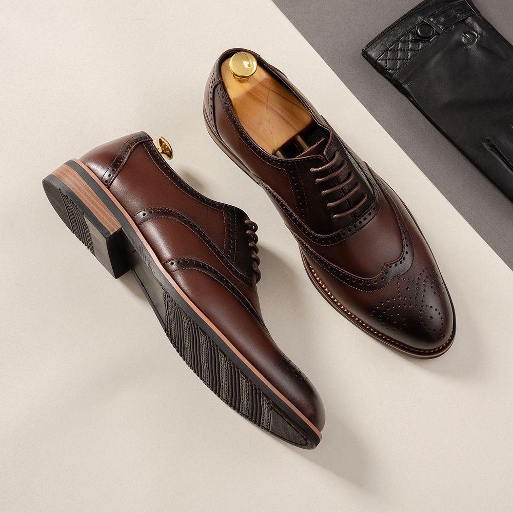 Giày da nam hàng hiệu GNTA2692-CF