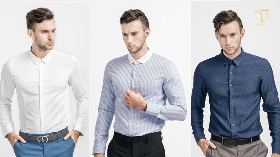 Lựa chọn áo sơ mi rộng hơn 1 size